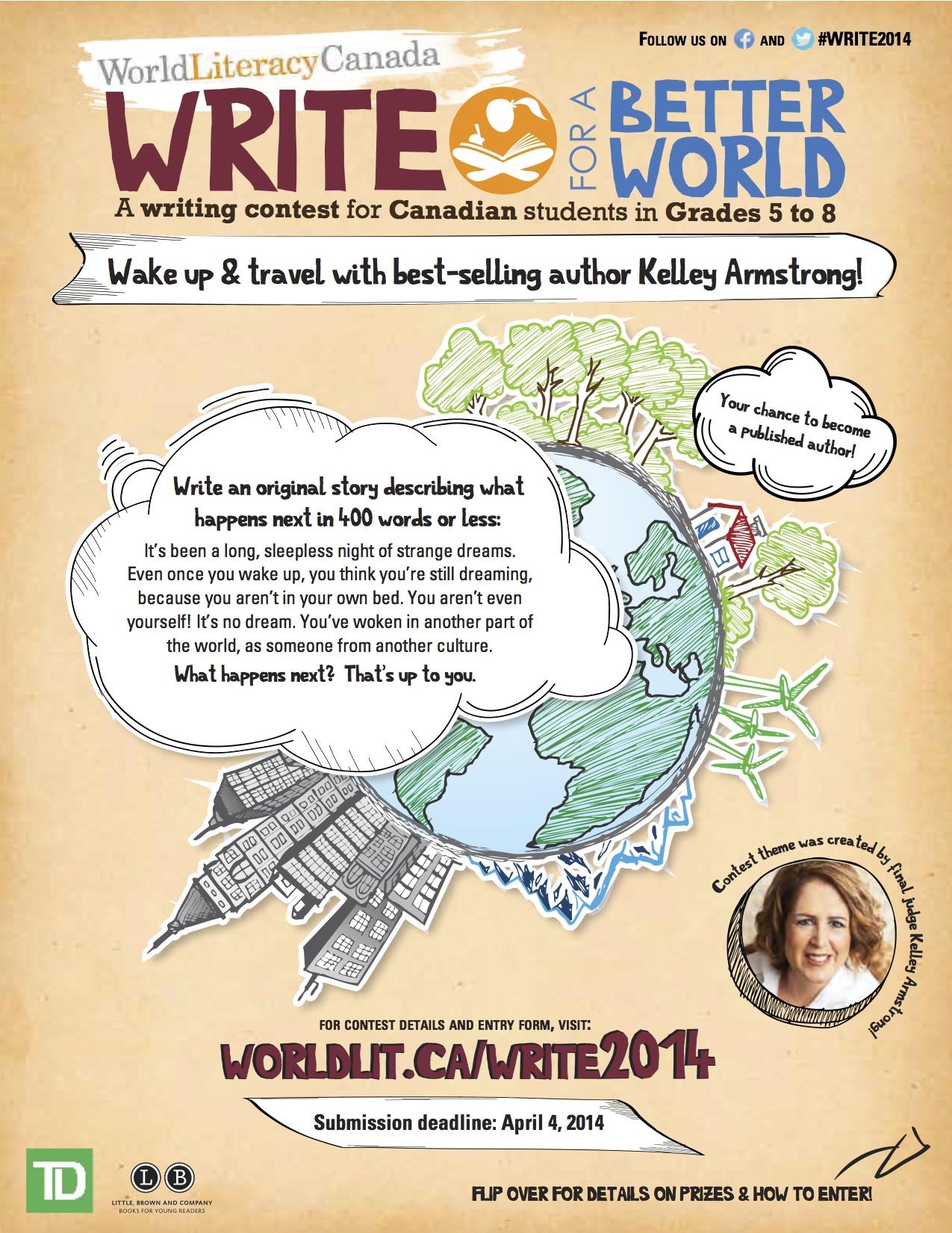 writing contest international